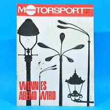 DDR Illustrierter Motorsport IMS 7/1967 daf 44 Simca 1301/1501 MC Schwedt A