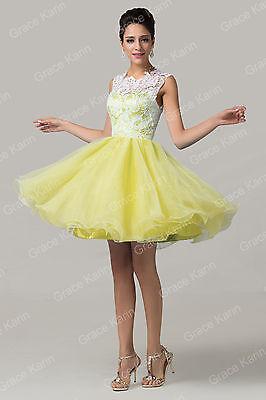 STOCK Masquerade Wedding Bridesmaid Homecoming Party Evening Short Prom Dresses