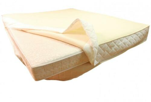 Merino WOOL NATURAL Mattress Topper QUILTED MATTRESS BED PROTECTOR