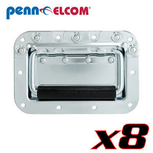 8 Penn Elcom H7159ez Spring Flex Recessed Cabinet Handle Steel/rubber Pennbrite Rendre Les Choses Commodes Pour Le Peuple