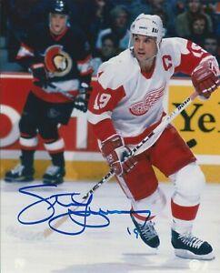 Steve-Yzerman-HOF-Autographed-Signed-8x10-Photo-Red-Wings-REPRINT