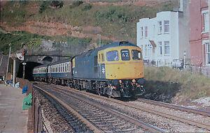 Postcards  railways  Class 33 33044 - Market Harborough, United Kingdom - Postcards  railways  Class 33 33044 - Market Harborough, United Kingdom