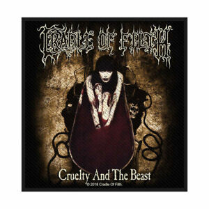 Cradle-Of-Filth-Cruelty-And-The-Beast-Tisse-Patch-a-Coudre-Officiel-March
