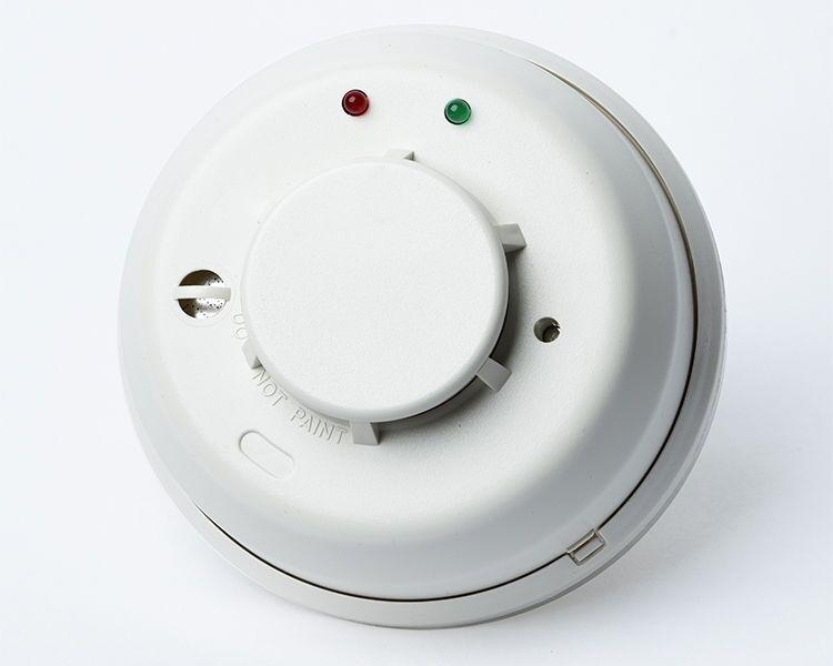 5 Paquete de Honeywell 5808W3 Inalámbrico Detector de humo y calor con sonda integrado.