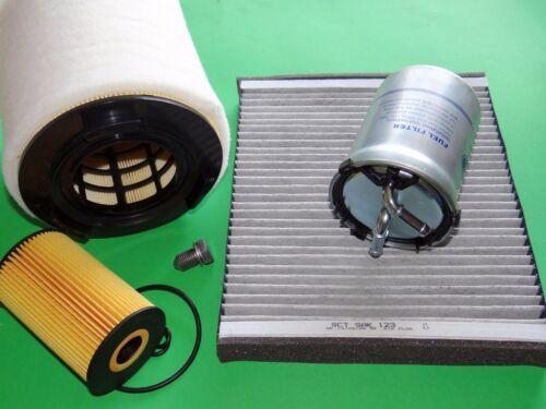 gr Filterset Inspektionspaket Filtersatz Seat Ibiza 6J 1.6 TDI 55-77kW