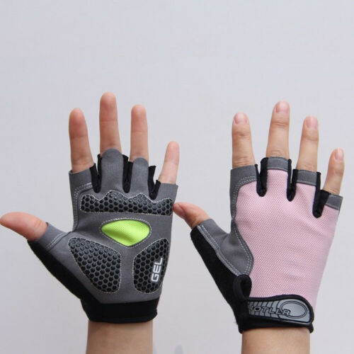 Outdoor Sports Cycling Climbing Anti-slip Shockproof Half Finger Unisex Gloves s