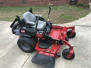 Toro Zero Turn Lawn Mower 60 Commercial 3000 Series Only 81 Hrs Ebay