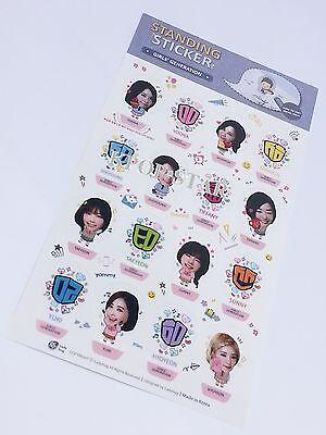 SNSD Girls Generation Mini Photo 3D Standing Sticker KPOP Character Stickers