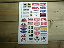 RC Radio Controlled CAR STICKERS Set1 Mardave Vintage Classic Race Tamiya Kyosho