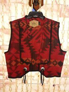 coperta Woolrich maglia della americano eccellente grande del azteca lana nativo dell'annata Formato della della tPHqP5w