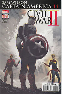 Marvel-Comics-Sam-Wilson-Captain-America-11-Near-Mint-Never-Read