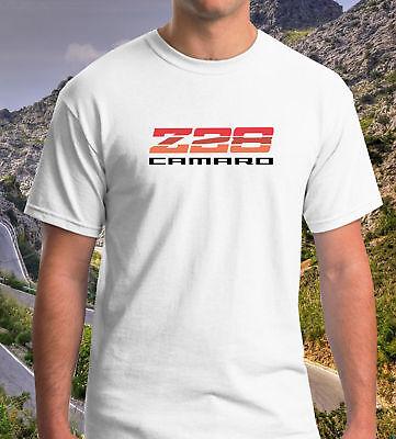 Z28 CAMARO LOGO CHEVROLET personalized tee 100/% cotton men black white t-shirt