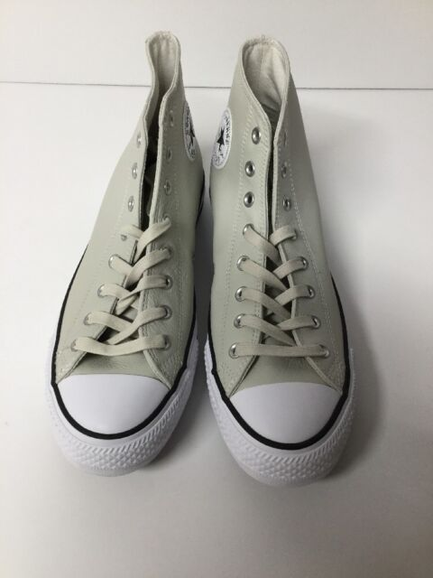 2fa862c8d61c Adult Converse Chuck Taylor All Star Leather High-Top Sneakers Buff 11 mens