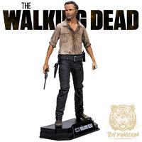 Rick Grimes - Walking Dead Tv Mcfarlane Color Tops 7 Action Figure - Red Wave