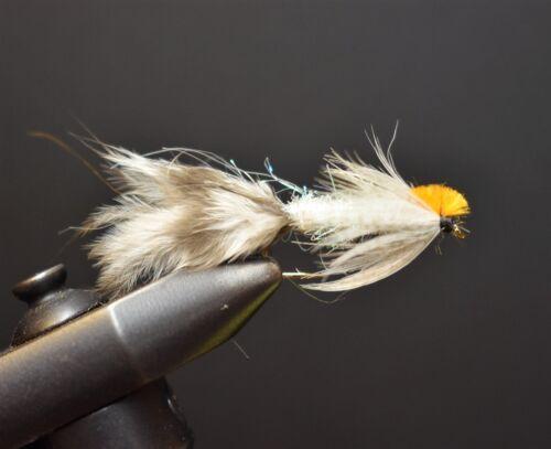 Chicken Little Streamer Streamers Fly Fishing Size 10 2 Flies