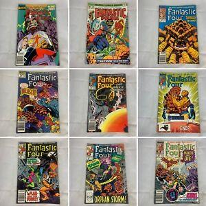 Lot-Of-9-Fantastic-Four-Number-150-310-314-316-317-321-323-Marvel-Comics