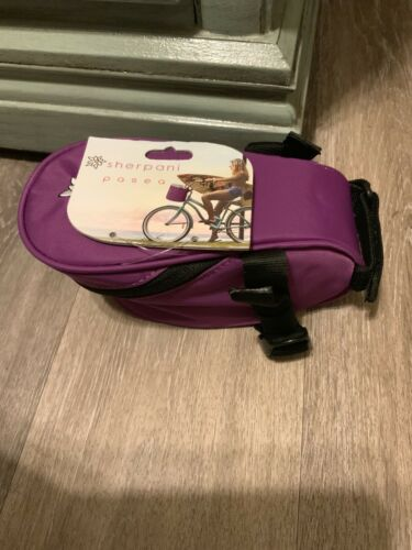 NWT Sherpani Pasea Bike Seat Storage Bag Water Resistant