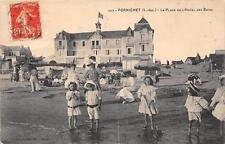 CPA 44 PORNICHET LA PLAGE DE L'HOTEL DES BAINS