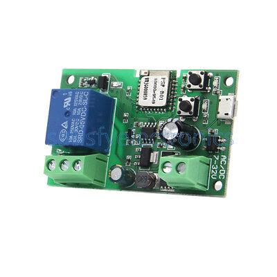 DC 5V-12V Sonoff WiFi Wireless Smart Switch Relay Module Smart Home Phone APP  S