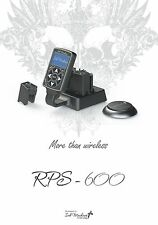 Ink Machines RPS-600 Wireless Power Supply with 2 Power Packs