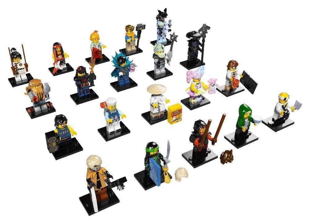 LEGO Ninjago minicifras serie  Movie - 71019-Serie completa di 20-NUOVO  per il commercio all'ingrosso