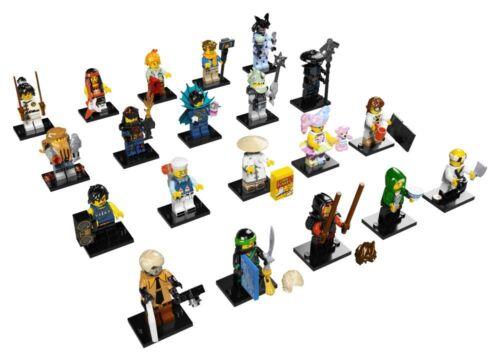 Lego Ninjago Movie Series Minifigures 71019 NEW Complete Set of 20