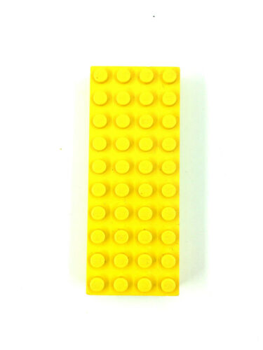 Lego ® 2x Basic plaques Dick Rouge Bleu Jaune Noir Gris Pierre Bauplatte 6216