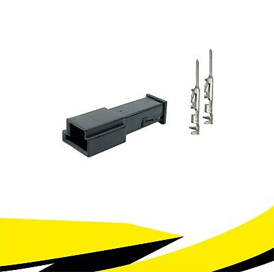 Buchse Stecker 2-polig Reparatursatz 1-1718333-1 8373575 für BMW MQS Crimp