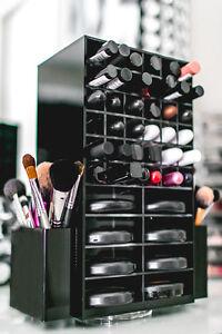 Spinning Acrylic Makeup Organizer Holder Cosmetic Lipstick - Acrylic makeup organizer