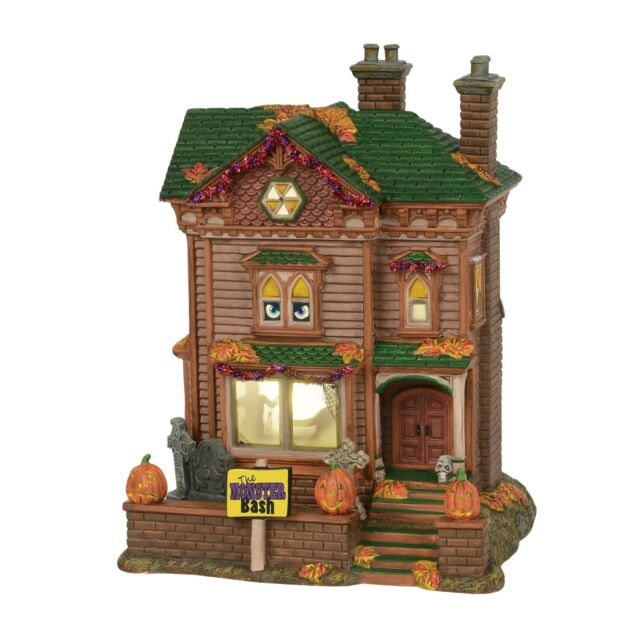 NEW Department 56 Halloween Boneyard Birdhouse #4038902