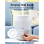 2 5L Humidifiers Cool Mist Humidifier Top Fill Essential Oil Diffuser ...