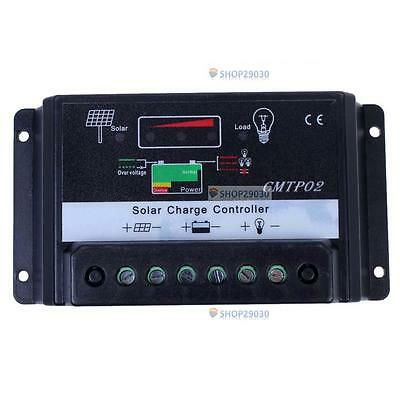 30A PWM Pv System Battery Regulator Charge Controller 12V/24V Auto Switch SP