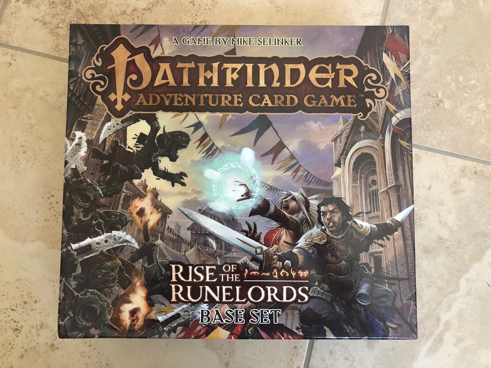 GPAF  Rise of the Runelords + Aventures + Promos + Broken JETON Insert