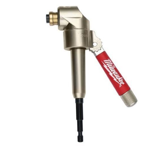 Milwaukee 49-22-8510 1//4-Inch 90-Degree Angle Offset Power Groove Drive Adapter