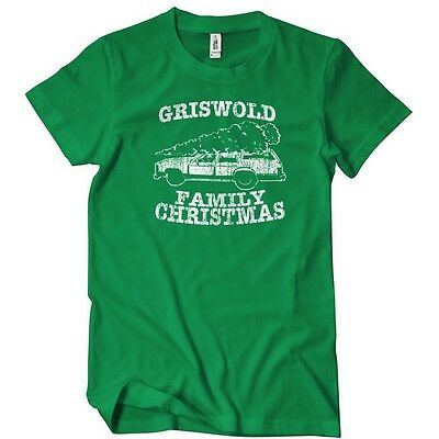 Griswold Family Christmas T-Shirt Funny Cotton Adult Tee Sizes S-5XL