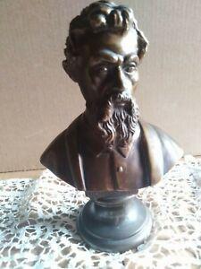 Statua-scultura-dei-primi-900-034-in-bronzo-busto-Michelangelo-1-047-Kg