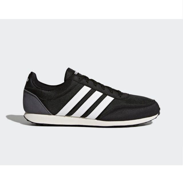 timeless design 458b4 700d7 Sneakers BC0106 Zapatillas Adidas Racer 2.0 Negro y Blanco Hombre