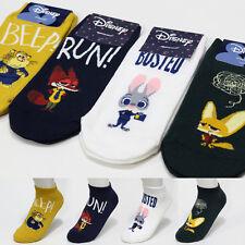 4 Pairs Disney Zootopia Friends Socks Judy Flash Nick Friends New Cartoon Socks