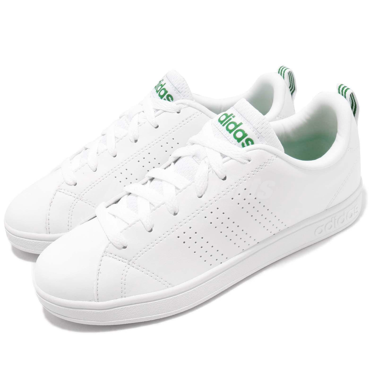 Adidas Neo  Label Advantage Clean VS bianca verde Men Scarpe Casual scarpe da ginnastica F9251  saldi