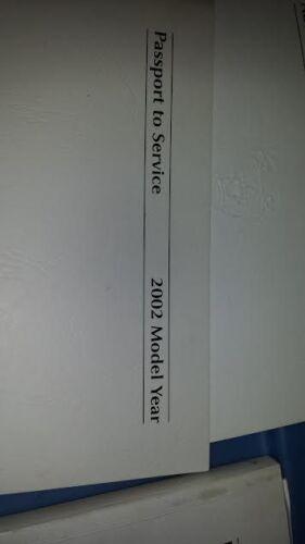 2002 JAGUAR X TYPE OWNER MANUALS