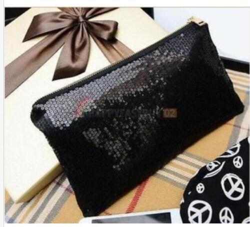Hot Sale Women Glitter Sequins Handbag Evening Party Clutch Bag Wallet Purse D6