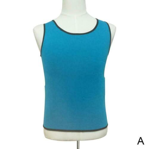 Männer Damen T-Shirt Sauna Ultra Sweat Body Shaper Abnehmen K1F0