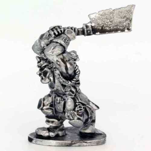 Cleaver Warhammer Fantasy Armies 28 mm non peinte wargames Hobgoblin Hero