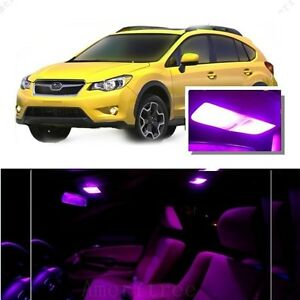 For subaru xv crosstrek 2013 2015 pink led interior kit - Subaru crosstrek interior lighting ...