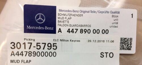 Genuine Mercedes Anteriore Mudflap KIT 2015 NUOVI Vito /& V-Class wdf447