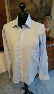 Das Bild wird geladen Exquisites-Herrenhemd-BRERA-MILANO-in-Gr-44-Slim- 295068365d