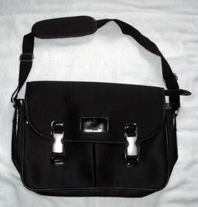 New-Union-Pacific-Railroad-Crew-Management-Services-Laptop-Messenger-Bag-black
