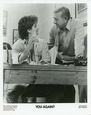 JACK KLUGMAN JOHN STAMOS YOU AGAIN? ORIGINAL 1986 NBC TV PHOTO