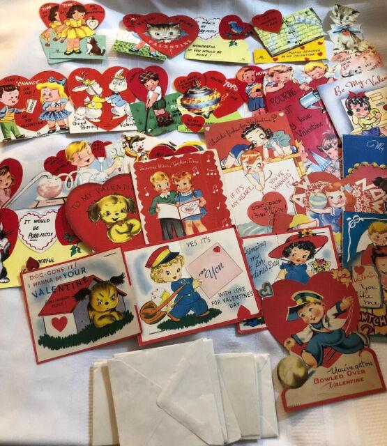 lot of 28 unused classroom valentine exchange cards  ebay