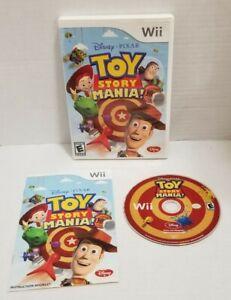 DISNEY PIXAR Toy Story Mania (Nintendo Wii Wii U) GAME COMPLETE BUZZ WOODY JESSE